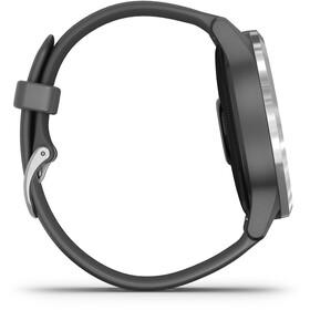 Garmin Vivoactive 4 Smartwatch dark grey/silver
